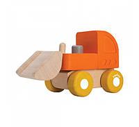 """Деревянная игрушка """"Мини-бульдозер"""", PlanToys"""