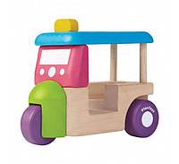 """Деревянная игрушка """"Мини-моторикша"""", PlanToys"""