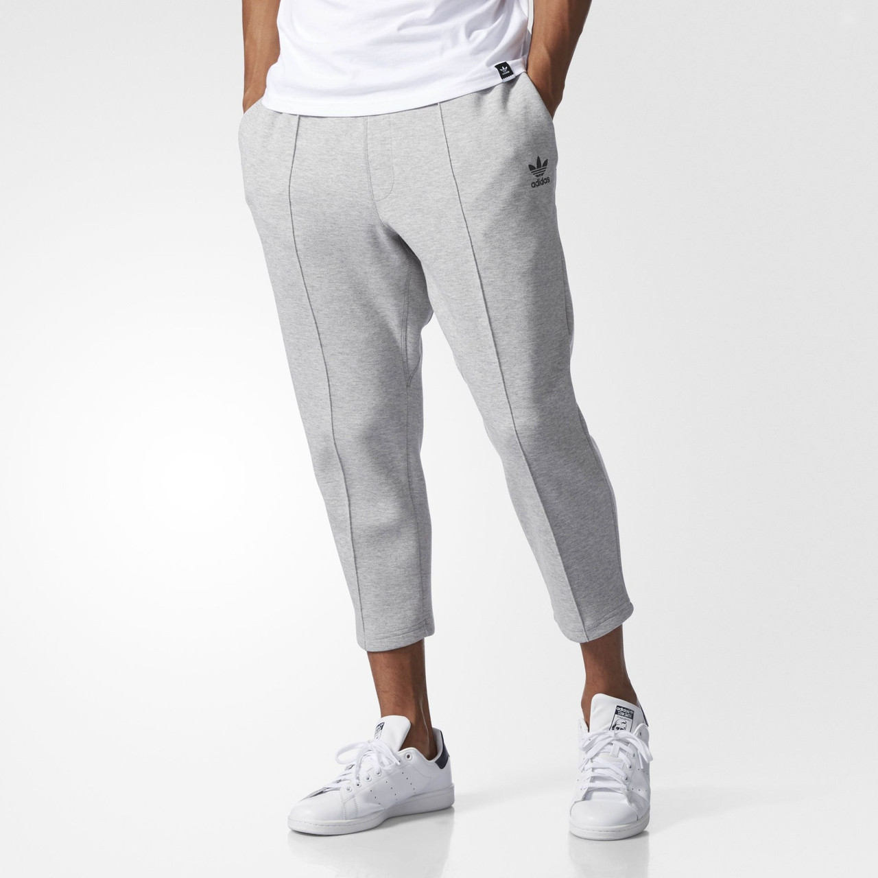 Мужские брюки Adidas Originals Instinct Cropped Pintuck (Артикул  BK0555) -  Интернет-магазин b0be714e825