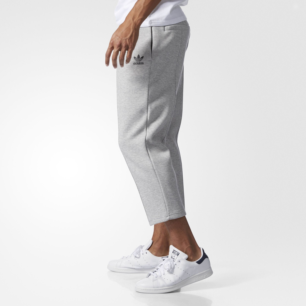 Мужские брюки Adidas Originals Instinct Cropped Pintuck (Артикул  BK0555),  ... a396b558517