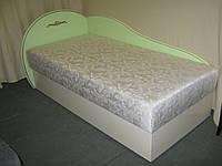 Кровать детская ФАБЕРЖЕ (салатовая+слоновая кость)
