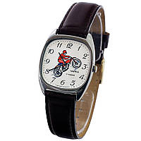 Чайка мотоциклист часы СССР