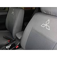 Чехлы модельные для Mitsubishi Lancer 2007- (двиг-1,6) Elegant-CLASSIC №330