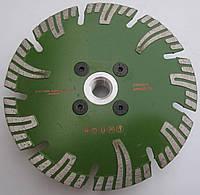 Алмазный диск, для твердого гранита, Super Premium Granite Turbo Segment 125x2,1/1,5x8/28x22,23/М14 1A1R