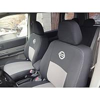 Чехлы модельные для Nissan Almera 2006-2012 (подголовники) Elegant-CLASSIC №058