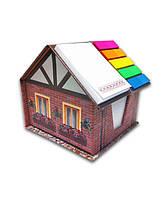 Канцелярский набор  «Кирпичный  дом»