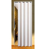 Двери-гармошки Melody Арктический белый 2030х820 мм