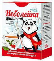ФитоБиоТехнологии, Украина Фиточай Organic Herbs Неболейка 50г