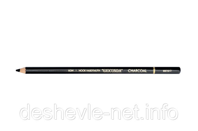 Олівець художній 8810 Gioconda, вугілля м'який, фото 2