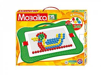 Мозаика ТехноК №5, 240 шт, 13мм, 4 цвета (3374)