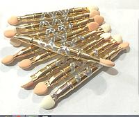 Аппликаторы для теней металлическая ручка 10шт APL-06 YRE