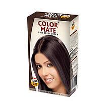 Крем-Фарба Color Mate Hair Color Cream - Dark Brown (Темно-коричневий) 60мл+60мл+10мл