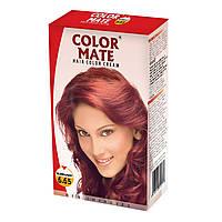Крем-Фарба Color Mate Hair Color Cream - Burgundy (Ред) 60мл+60мл+10мл