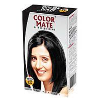 Крем-Фарба Color Mate Hair Color Cream - Natural Black (Чорний) 60мл+60мл+10мл