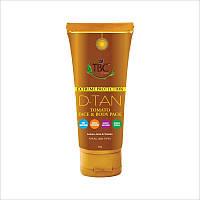 Солнцезащитная маска для лица и тела Extreme Protection D-Tan Tomato Face & Body Pack 100мл