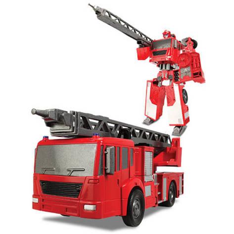 Игровая фигурка «X-bot» (80040R) робот-трансформер Пожарная машина, фото 2