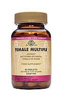 Комплекс вітамінів Солгар для жінок таблетки №60