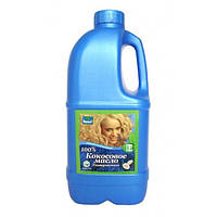 Кокосовое масло 100% косметическое средство для ухода за волосами и кожей 1000мл ТМ Parachute