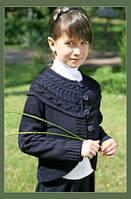Вязаное болеро детское