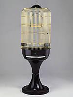 Клетка Fop 15250035 Melania золотая с подставкой круглая 53 см/96 см