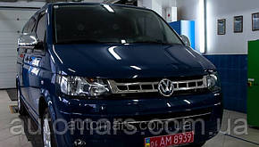 Накладки на передню решітку Volkswagen T5 Transporter/ Caravelle/ Multivan (Фэйслифт 2010+)