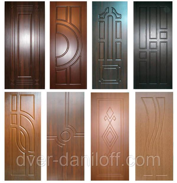 МДФ накладки на металлические двери оптом