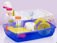 Клетка Fop 20070370 Bernie Prestige пластиковая укомплектованная 53 см/38 см/25,5 см