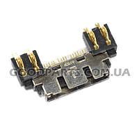 Коннектор зарядки для Samsung (Оригинал) A800, C100, C110, D100, E300, S300,S500, T100, X400, X450