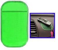 Нано-коврик антискользящий в авто NANO, Pad Anti-Slip green (зеленый)