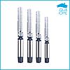 Насос для скважины трехфазный многоступенчатый Sprut 6SP17-26