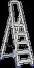 Стремянка алюминиевая 1м для домашнего и профессионального использования Elkop (ALW 405)