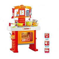 Игровой набор «Кухня для девочки» 661-91: посуда, звук, свет, продукты, 3х1,5В, 42х24х24 см