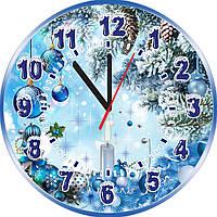 Настенные часы Новогодние