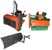 Снегоуборщики, лопаты-отвалы и щетки к мотоблокам