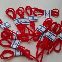 Оберег из красной шерстяной нити из Иерусалима, фото 1