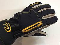 Перчатки горнолыжные мужские PUISSANT р.L черно/желтые