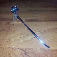 Крючок для товаров хром на эконом панель, 20 см. ( 6мм.), фото 1