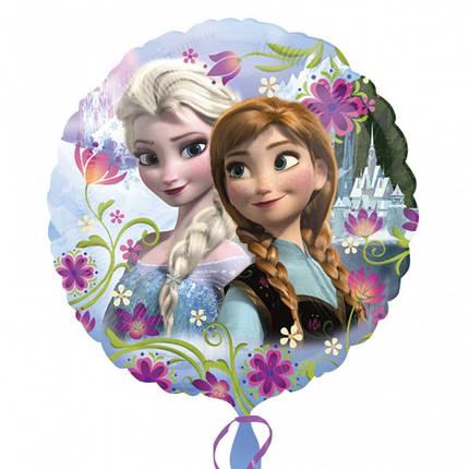 Фольгированный шар Фрозен (Анна и Эльза), фото 2