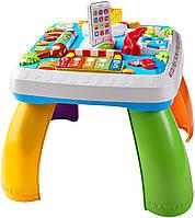 Развивающая игрушка Fisher-Price Умный столик с технологией Smart Stages