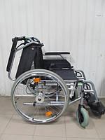 Комфортная инвалидная коляска  ширина сидения 45 см в идеальном состоянии В+В б/у Немецкое качество