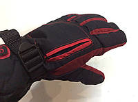 Перчатки горнолыжные мужские PUISSANT р.L черно/красные
