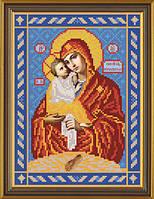 Набор для вышивания бисером Богородица Почаевская С 9025
