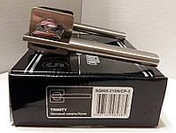 Ручка раздельная ARMADILLO TRINITY SQ005-21SN/CP-3 матовый никель/хром, фото 1
