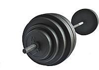 Штанга 120 кг + гантели 15 кг + лавка + силовая рама