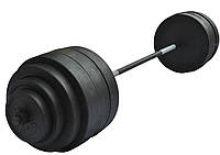 Штанга 145 кг + лавка раскладная + силовая рама