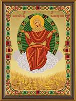Набор для вышивания бисером Богородица Спорительница Хлебов СК 9009