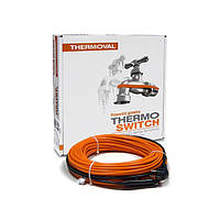Нагревательный кабель с интегрированным термостатом TV TS (15 Вт/м.п.) — 4,00 м.п.