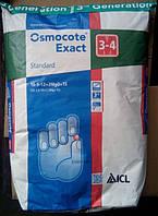 Osmocote Exact Standart 16-9-12+2MgO+TE (3-4мес.) 25кг.
