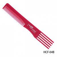 Расческа с пластиковой вилкой. HCF-04B_LeD