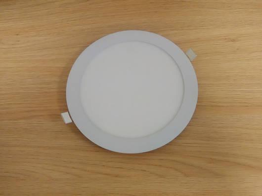 Светильник врезной LED  Downlight  18W 6400K  диаметр 225 мм  круглый  алюминиевый корпус